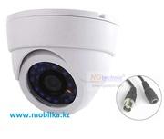 Купольная внутренняя AHD камера видеонаблюдения