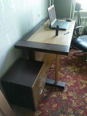 Продам стол письменный с тумбой