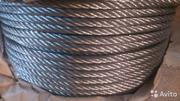 Трос стальной и оцинкованный производство Россия. Гост 2688-80, 3069-80