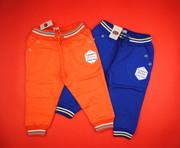Штанишки для мальчика синие плотные спортивные 453