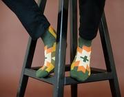 Цветные,  яркие,  необычные носки