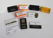 Визитки: Изготовление и печать визиток любой сложности,  Алматы