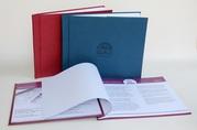 Изготовление,  печать каталога или презентации в твердом переплете