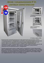 Климатический телекоммуникационный шкаф