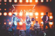 Кавер группа GLANCE,  Live band / Лайв бэнд / Алматы