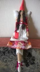 Интерьерная текстильная кукла Тильда. Эльф.