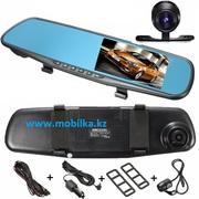 Продам Бюджетный автомобильный HD видеорегистратор зеркало с двумя кам