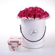 Цветы в коробках Алматы