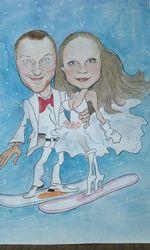Услуги художника на свадьбе
