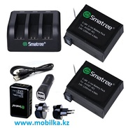 Продам комплект аккумуляторов для GoPro HERO 4,  Smatree® SM-003