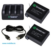 Продам комплект аккумуляторов для GoPro HERO 4 Lite,  Smatree® SM-004