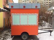 Продам киоск-прицеп (трейлер) на колесах новый торг
