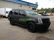 Черный матовый винил для авто Алматы