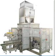 Машина для упаковки сыпучих продуктов в открытые мешки 022.50.01