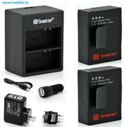 Продам комплект аккумуляторов для GoPro HERO 3/3+,  Smatree® A2C-003