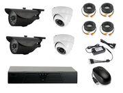 Продам комплект готового видеонаблюдения на 4 камеры (Аналоговый)