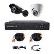 Продам комплект готового видеонаблюдения на 2 камеры