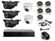 Продам комплект готового видеонаблюдения на 5 камер