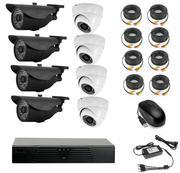 Продам комплект готового видеонаблюдения на 8 камер (