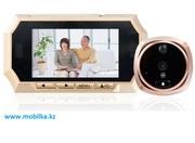 Продам дверной видеоглазок / видеозвонок с датчиком движения и микрофо