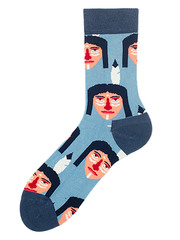 Дизайнерские цветные носки купить в Алматы Астане