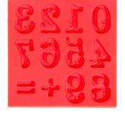 Силиконовая форма молд для творчества Цифры 8*8 код 46822