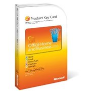 Microsoft Office 2010 home and business key card