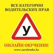 Автошкола «Zarulemkz.kz» приглашает на «Online-обучение»