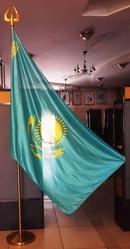 Флаг со штативом,  подставкой и наконечником