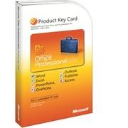 Microsoft Office 2010 Профессиональный (Карта ключа/Key card)