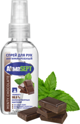 Спрей для рук антимикробный «Minty chocolate»