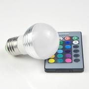 Светодиодная энергосберегающая лампа лампочка на пульте Remote 46971
