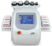 Аппарат 6в1: кавитация,  РФ,  лазерный липолиз