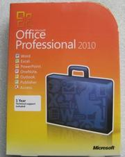Microsoft office 2010 Professional Box Rus