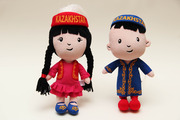 Сувениры с национальной символикой Казахстана