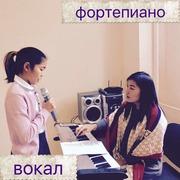 Обучение игре на фортепиано,  домбре. Вокал для детей.