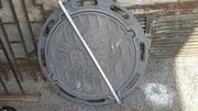 Люки чугунные канализационные Тип Л нагрузка 1.5 тн