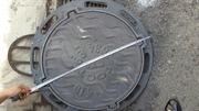 Люки чугунные канализационные Тип Л нагрузка 1.5 тн вес 50 кг