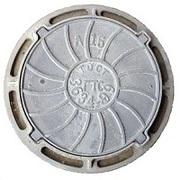 Люки чугунные тип Л ГОСТ 3634-99 760*640*50 нагрузка 1.5 тн