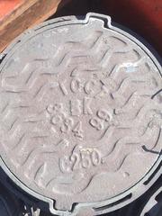 Люки чугунные канализационные Тип Т нагрузка 25 тн