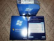 Microsoft Windows 7 Professional 32bit / 64bit box