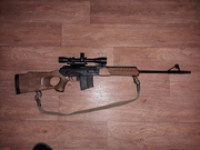 Продам нарезной карабин  вепрь 7.62х54R с прицелом Leopold