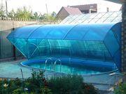 Строительство павильонов для бассейнов