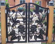 Ворота,  калитки из художественной резки