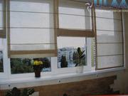 Римские шторы,  рулонные,  жалюзи,  рольставни