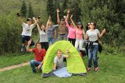Тимбилдинг на природе Алматы