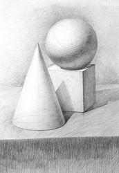 Обучение академическому рисунку от профессиональных художников