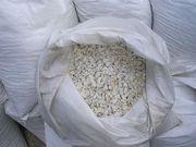 Мраморная крошка (щебень) белая  50 кг