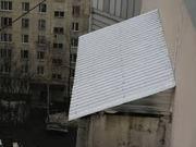 Установка козырька на балкон,  Недорого в Алматы,  Алматы