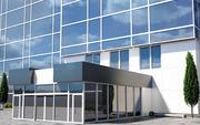 Алюминиевые фасады,  входные и балконные группы,  перегородки